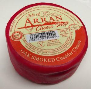 Isle of Arran Cheese Oak Smoked Cheddar