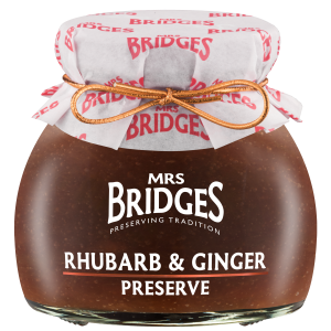 Rhubard and Ginger Preserve